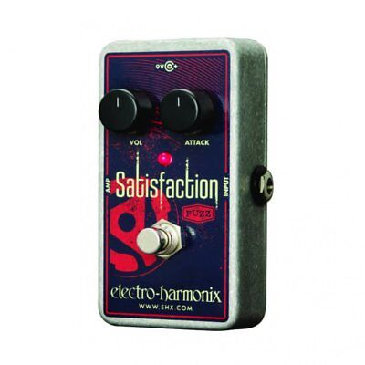 Electro Harmonix Satisfaction Fuzz Effects Pedal for Guitar