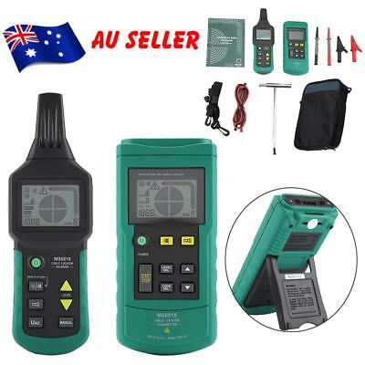 MS6818 Wire Cable Tracker Metal Pipe Locator Detector Tester 12V-400V AC/DC