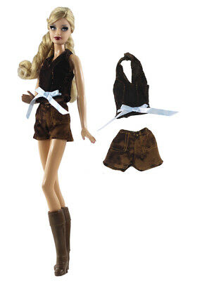 1 Set Fashion Handmade Doll Clothes Outfit for Barbie Doll L27