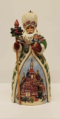 JIM SHORE Heartwood Creek Hanging Russian Santa Ornament Item 4022942 - w/box