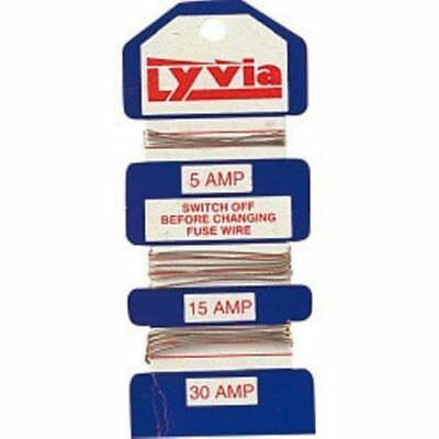 Household Lyvia Fuse Wire 5A, 15A, and 30A Fuse Box Electrical