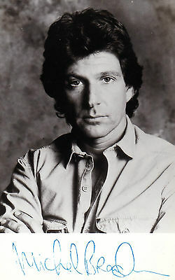 EARLY MICHAEL BRANDON HAND SIGNED  PROMO PHOTOGRAPH 5.5 x 3.5