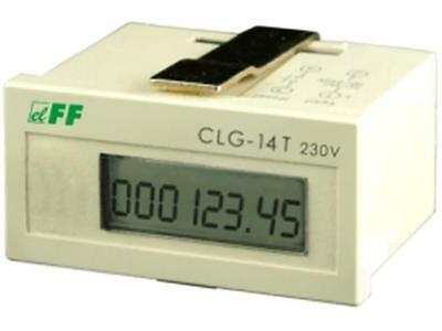 CLG-14T/230 Counter electronical working time Display LCD -10÷40°C F AND F