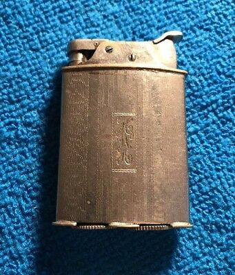 Evans Roller Bearing Pocket Lighter - Vintage Antique Lighter~~Monogramed~~