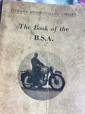 The Book Of The B S A By W C Haycraft