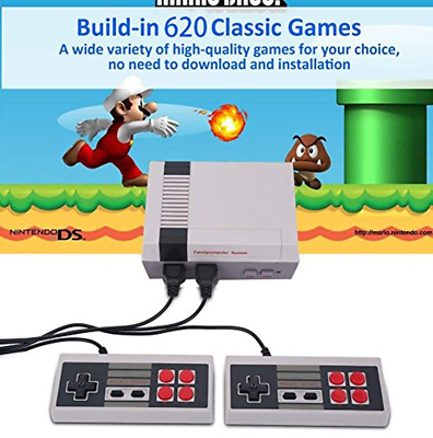 Mini Retro Entertainment Game Console with 620 Nintendo Games Christmas Gift