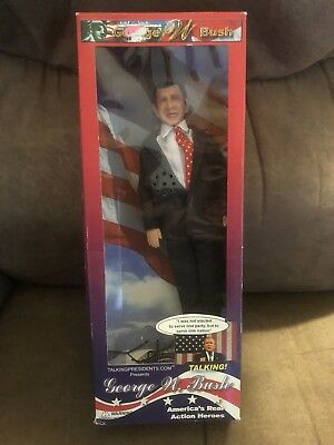 Presidential Action figure George W. Bush - Highly Collectible