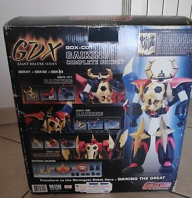 LEGEND OF DAIKU MARYU Most Wanted Gaiking The Great GDX-C01 Complete Boxset