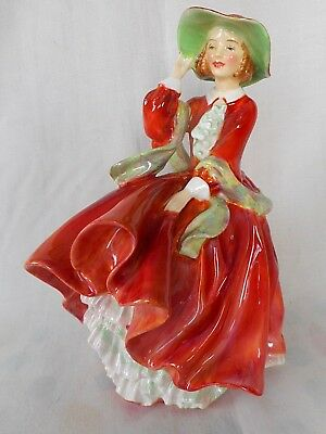 """Vintage Royal Doulton Figurine """"top Of The Hill"""" Hn1834 ~ Beautiful Condition !"""