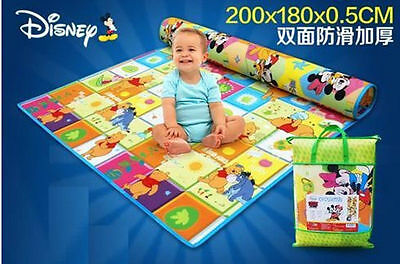 SAFE!Baby Kid Toddler Play Crawl Picnic Waterproof Mat Double Sides