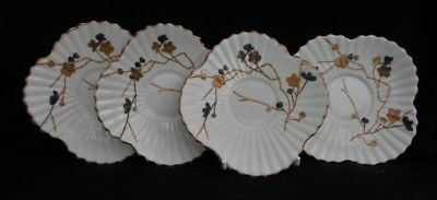 Wileman (Pre-Shelley) The Foley China Alexandra shape 'Gold and Silver Thorns'