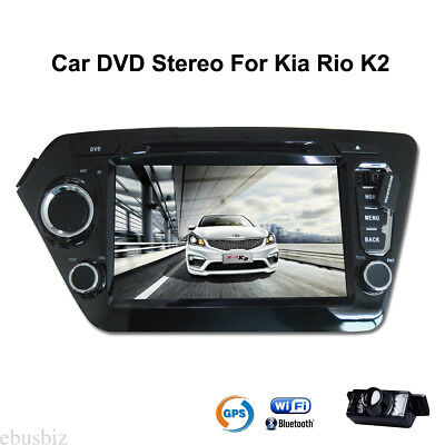 For Kia Rio K2 Car FM/AM Radio DVD Player GPS Touch DVR Stereo Android 7.1 Unit