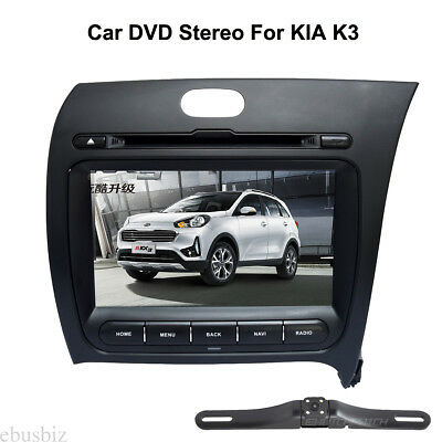 Android 7.1 Mirror Link Radio DVD Player GPS Bluetooth HD WiFi Stereo For KIA K3