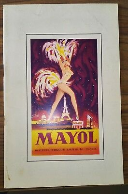 Programme spectacle MAYOL Nous sommes nues 1968-1969 -  music-hall