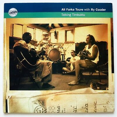 Ali Farka Toure & Ry Cooder –Talking Timbuktu – LP Vinyl 1994 UK