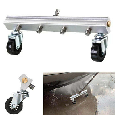 "1/4"" 4 Nozzle Car Chassis High Pressure Cleaning Gun Kit Aluminum Alloy 30Mpa"