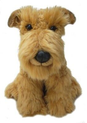 "Airedale Terrier puppy 12"" Soft Toy One of the Range of Faithful Friends new"