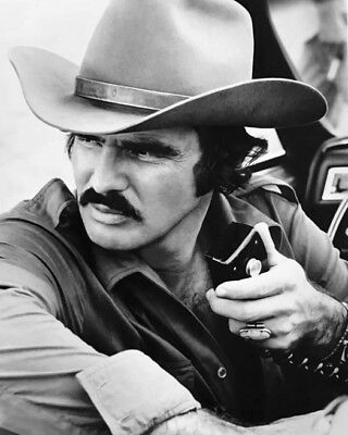 1977 Actor BURT REYNOLDS Glossy 8x10 Photo 'SMOKEY AND THE BANDIT' Print Poster