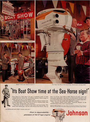 Johnson Outboard Ad / K&O Toy Outboard?