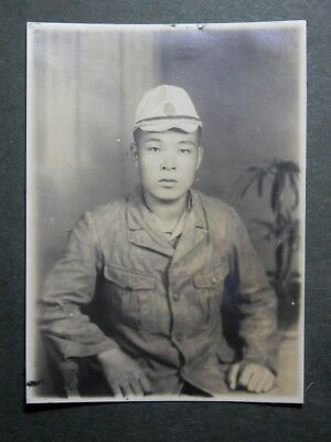 WW2 Japanese Navy Picture of the Shanghai land battle member.VeryGood