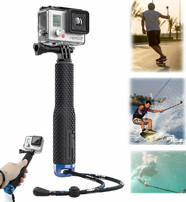 Selfie Stick Pole Extendable Telescopic Monopod For GoPro Camera Hero 6 5 4 3 2