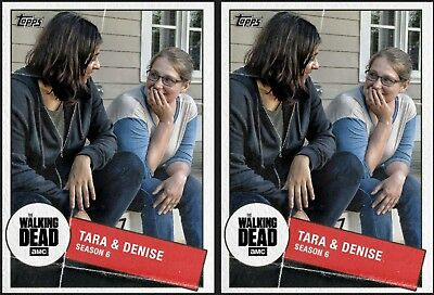 2x TARA & DENISE TOGETHER MARATHON Topps WALKING DEAD DIGITAL Card Trader