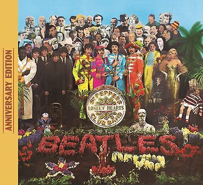 THE BEATLES 'SGT PEPPERS LONELY HEARTS CLUB BAND' (50th Anniversary) CD (2017)