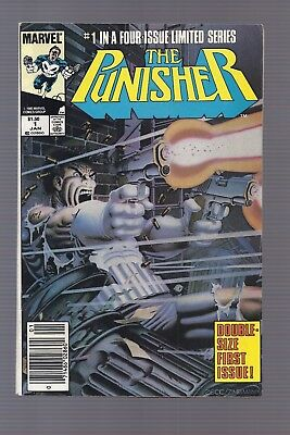 Canadian Newsstand Edition $1.50 Punisher Limited Series #1