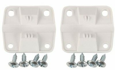 Coleman Cooler Replacement Plastic Hinges and Screws Set Ice Chest Parts Outdoor