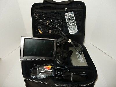 """Clarion N.i.c.e. 7"""" Tft Lcd In Car Navigation System With Remote, For Collectors"""