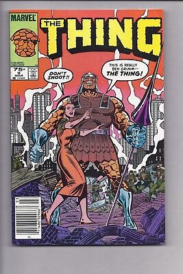High Grade Canadian Newsstand Edition The Thing #9 $0.75 price variant