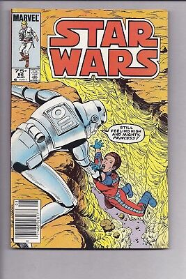 High Grade Canadian Newsstand Edition Star Wars #86 $0.75 price variant