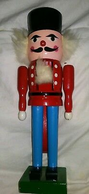 Vintage Wooden Soldier Nut Cracker