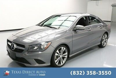 2016 Mercedes-Benz CLA-Class CLA 250 Texas Direct Auto 2016 CLA 250 Used Turbo 2L I4 16V Automatic FWD Sedan Premium