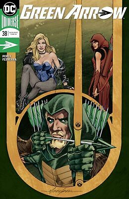 Green Arrow #38 Mike Grell Variant Nm 2018 Dc Comics