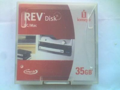IOMEGA REV 35Gb DISK PC Formatted (Used) - B.
