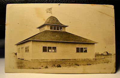 Akron Co. Colorado 1910s  Old Postcard  RPPC Agricultural Station