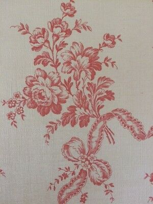 Beautiful Vintage Antique French wallpaper / Louis XVI style / 1920-1930