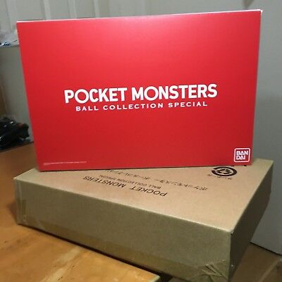 Official Pokemon Pokeball Premium Bandai Pocket Monster Ball Collection Special