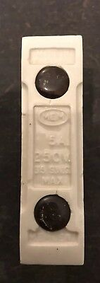MEM MEMCERT 5A AMP CERAMIC REWIREABLE FUSE Only