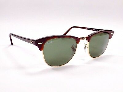 Ray Ban Clubmaster Classic RB3016 W0366 49mm Lens Sunglasses & Case