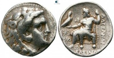 Alexander the Great Ancient Greek Tetradrachm (Former Savoca Silver, Price 3787)
