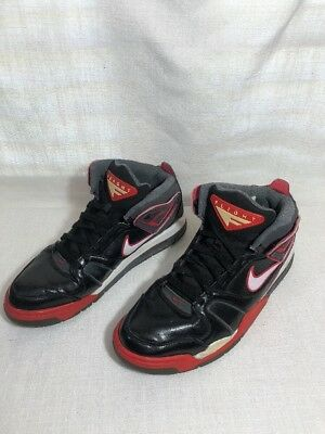 separation shoes ead5c 34919 Nike Mens Air Flight Falcons Size 10 397204-016 Red Black Gray