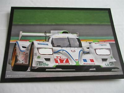PESCAROLO TEAM DOME JUDD #17 24 h Le Mans 2012 Bourdais Minassian LM carte card