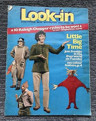 VINTAGE LOOK-IN MAGAZINE - No.18 MAY 1971 - LITTLE BIG TIME