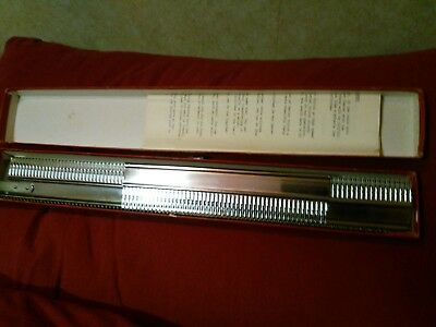 knitting machine garter bar for standard gauge machines