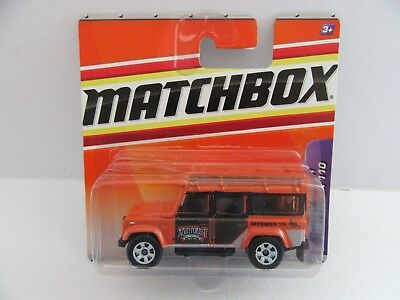 Matchbox Superfast 1997 Land Rover Defender 110 - Congo/Rain Forest - Mint/Boxed