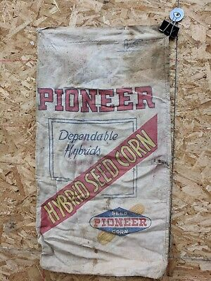 Vintage PIONNER Corn Cloth Seed Sack