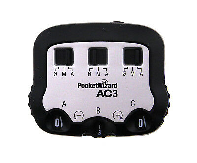 PocketWizard AC3 ZoneController for Canon (Open Box)