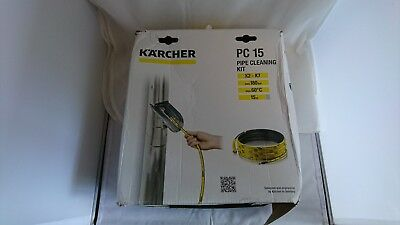 Karcher PC 15 Pipe Cleaning Set new